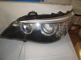 BMW 5 E60 facelift levé světlo