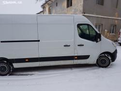 Opel Movano B pravé šoupačky