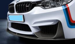 BMW M4 přední spoiler Carbon